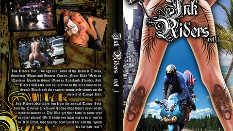 Ink Riders DVD Cover